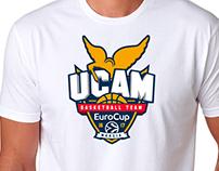 Camiseta conmemorativa UCAM CB - Eurocup 2016