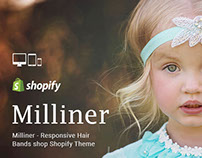 Milliner – Responsive Hair Bands shop Shopify Theme