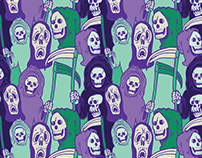 Ghoul Stripes Pattern