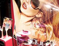 Window Display for VOGUE Eyewear