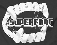 "SUPERFANG ""Teeth tour shirt"""