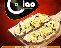 Bebidas & platos de Ciao Music bar
