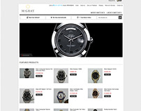 M Gray Luxury Watches