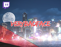 VeryBadFace - Pack Twitch + Social