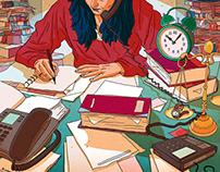 Le Monde - Newpaper Illustration 7