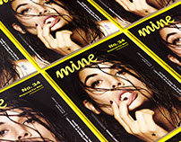 Mine Magazine Layout Design
