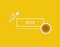 My Desk - SVG 404 Error Pages