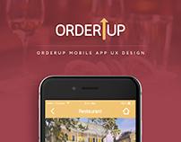 Orderup - UI/ UX App Design