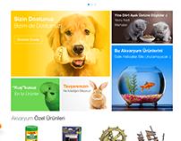 Pet Shop Landing Page - Kliksa