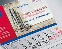 Kalendergestaltung für Sanierungsunternehmen