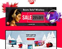 Circuit City Web Banners