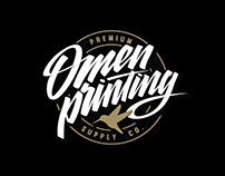 Omen Printing Identity