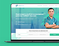 Website Landing Design for Yorqin Medical