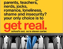 """""""Get Real"""" – Theatrical One Sheet Poster"""