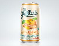 Sabrine La Pétillante - Packaging