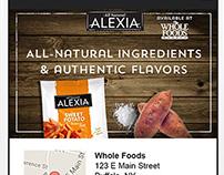 Alexia | Mobile Landing Page