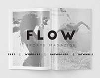 Flow Sports Magazine - Editorial