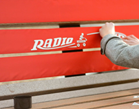 Radio Flyer: Guerilla Advertising Campaign