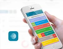 OneTimeline: iOS App Design