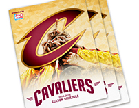 2014-2015 Cavaliers Pocket Schedule
