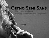 Getho Semi Sans Typeface