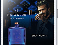 Haig Club® | Mobile Ad Campaign UK