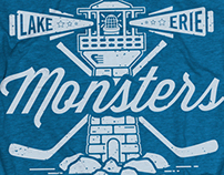 2014-2015 Lake Erie Monsters Merchandise