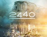 """""""2440 FESTIVAL"""" Poster"""