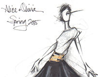 Sketchbook: Alice + Olivia S/S 2015