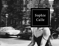 Editorial Sophie Calle
