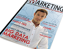 Maquetación Revista  online de Marketing