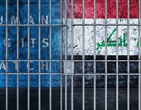 prison iraq human right watch infographic KurdsatNews