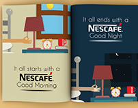 Nescafe Magazine Advertisement (Hypothetical Project )