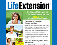 Email Marketing Designs for Life Extension Foundation