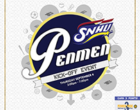Penmen Kick-Off Event Advertisement