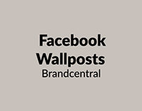 Facebook Wall Posts (Brandcentral)