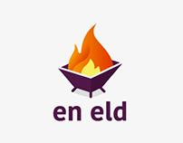 En eld (a fire) - logotype