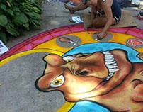 Chalk Murals