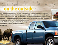 Self-Mailer Concepts for Chevy Dealerships