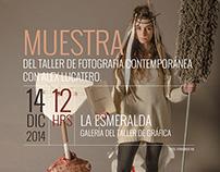 Afiches para Muestra de fotografía