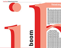 Irma Boom Magazine Spread