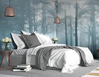 3D // NYC Bedroom