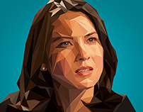 Sloan Sabbith - Low Poly Illustration