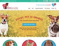 E-commerce Pet Web Design