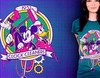 Mickey & Co. - Clock Cleaners Tee