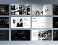 Film & TV Pitch Deck / Show Bible Template
