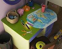 Cyclops Girl Bedroom