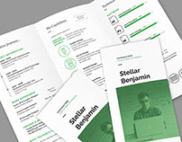 Stellar Tri-fold Resume CV