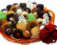 Christmas and Holiday Special Cookies, Gift Baskets
