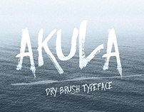 Akula-hand drawn letters